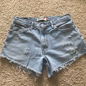 Levi's cut-off shorts